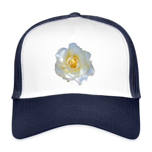 A white rose - Trucker Cap