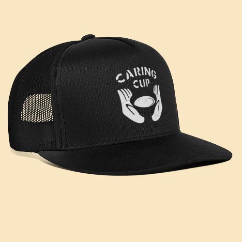Caring Cup hellgrau - Trucker Cap