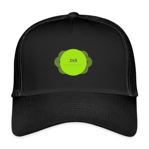 The Official 24S Logo - Trucker Cap