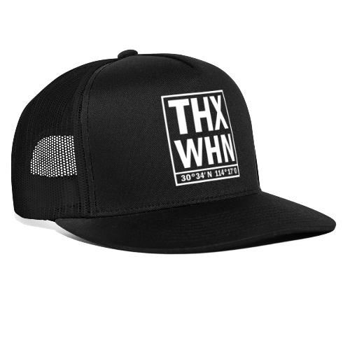 THX WHN Koordinaten - Thanks Wuhan (weiss) - Trucker Cap