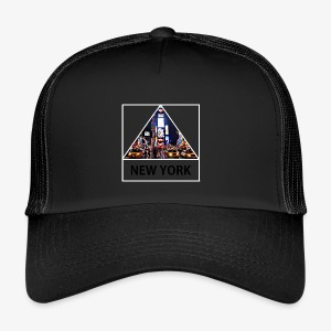 Triangle sur New York - Trucker Cap