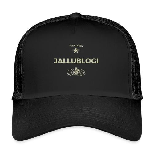 Jallublogi muki musta - Trucker Cap