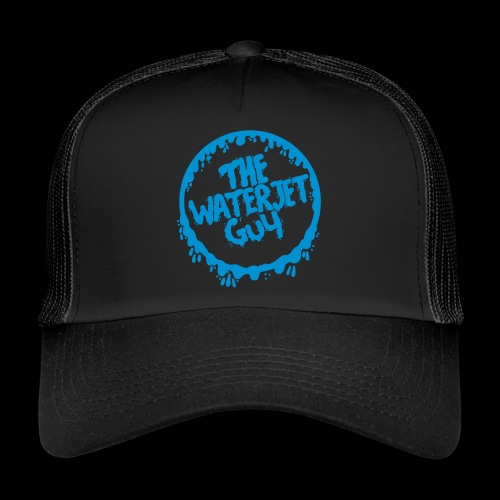 Waterjet Guy watery - Trucker Cap