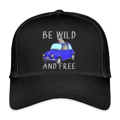 Wildschweine - Be wild and free - Trucker Cap
