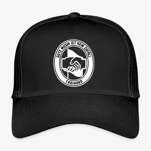 Logo Troihand invertiert - Trucker Cap