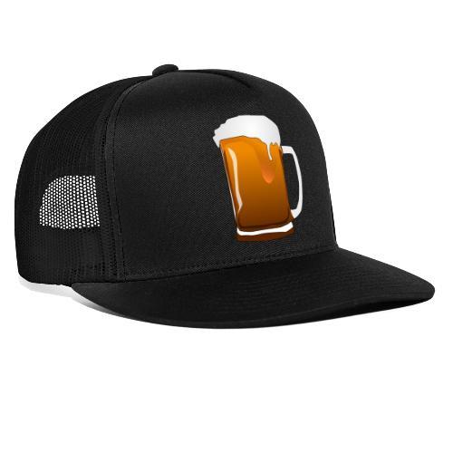Cartoon Bier Geschenkidee Biermaß - Trucker Cap