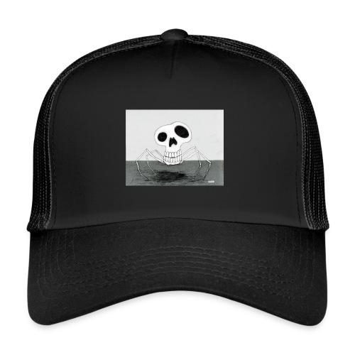 skull spider - Trucker Cap