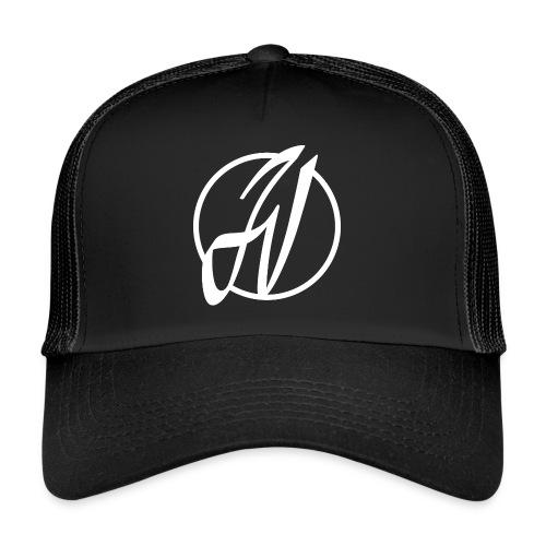 JV Guitars - logo blanc - Trucker Cap