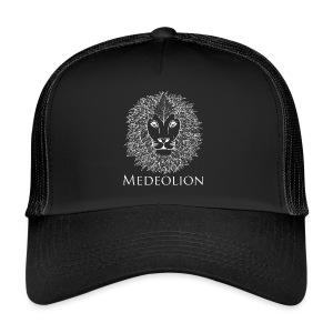 Medeolion Official Snapback White logo - Trucker Cap