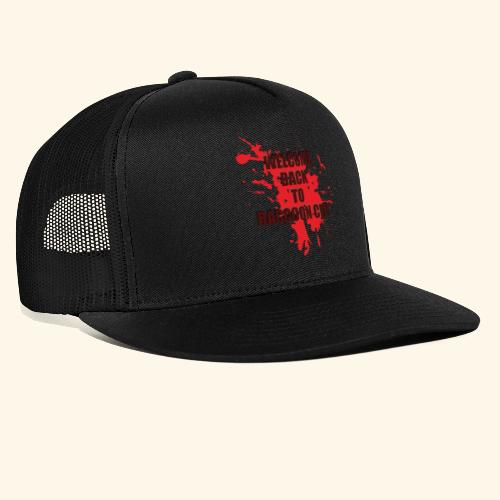Welcome Back to Raccoon City TEXT 01 - Trucker Cap