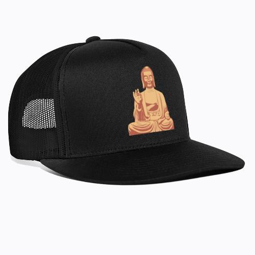 buddha om - Trucker Cap