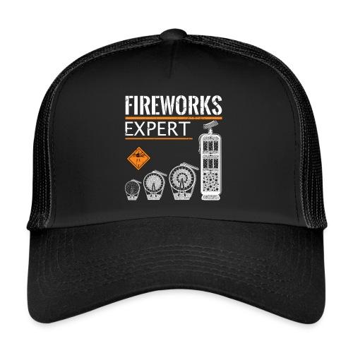 Feuerwerk Experte Pyro Silvester - Trucker Cap