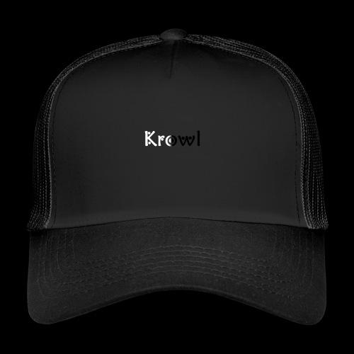 Krowl 1st Yin & Yang Design - Trucker Cap