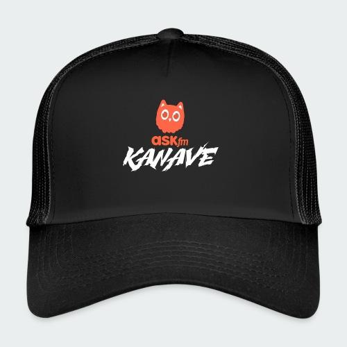 Kanave Koszulka Czarna Męska - Trucker Cap