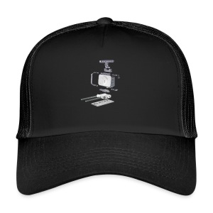 VivoDigitale t-shirt - Blackmagic - Trucker Cap