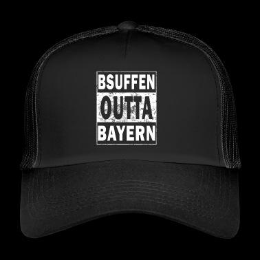 Drukket outta Bayern - drukket av Bayern - Trucker Cap