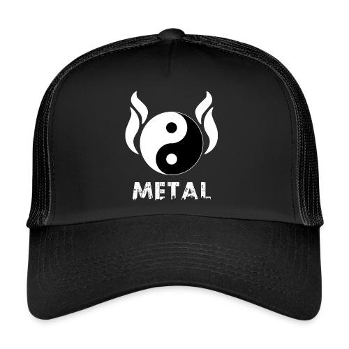 YIN YANG METAL - Trucker Cap