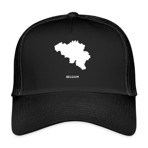 Europa Symbol Land Belgien Silhouette Staat - Trucker Cap