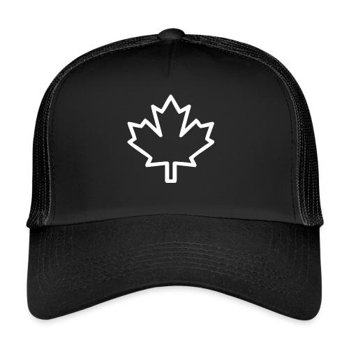 Kanada Symbol Ahorn Blatt Pflanze Nation - Trucker Cap