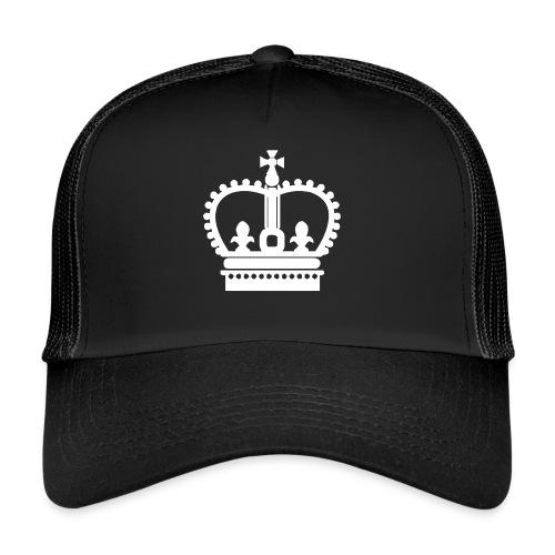Krone Symbol König Kaiser Königin Mittelalter - Trucker Cap