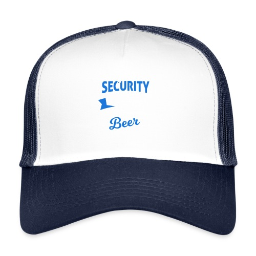 Cyber Security Expert will work for beer - Trucker Cap