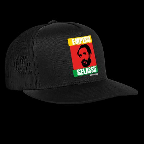 EMPORER SELASSIE red gold green - Trucker Cap