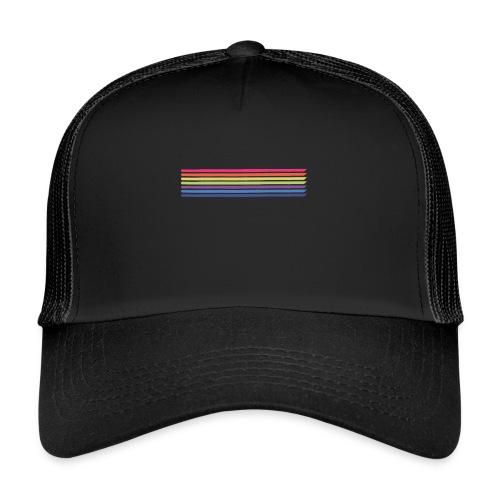 Farvede linjer - Trucker Cap
