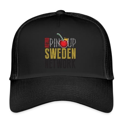 Tanktop Retro Pinup Sweden Crew utsvängd - Trucker Cap