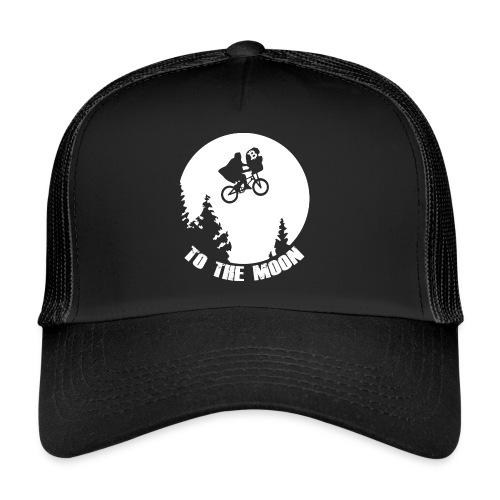 to the moon,bitcoin - Trucker Cap