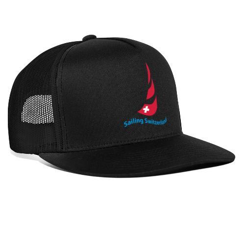 logo sailing switzerland - Trucker Cap