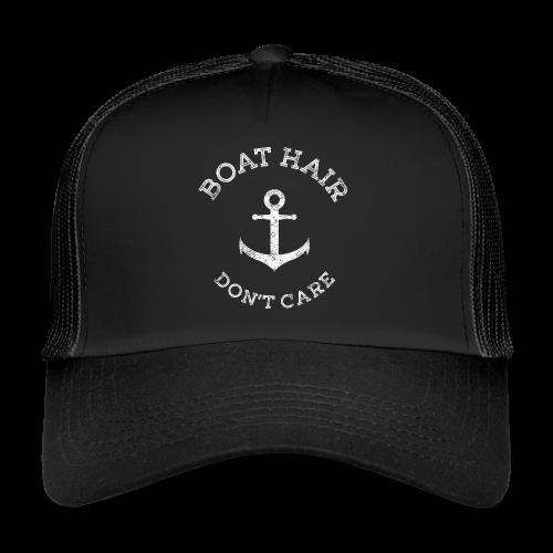 Boat Hair Dont Care - Anker - Trucker Cap