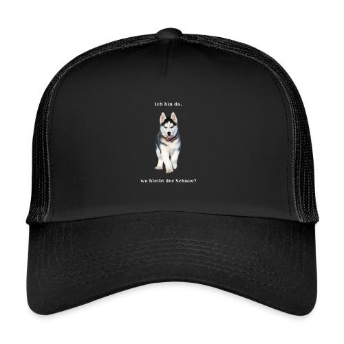 Husky Welpen mit bezaubernden Augen - Trucker Cap