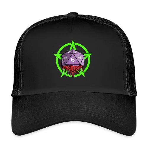 Würfel RPG Spiel Rollenspiele 666 mit Pentagramm - Trucker Cap
