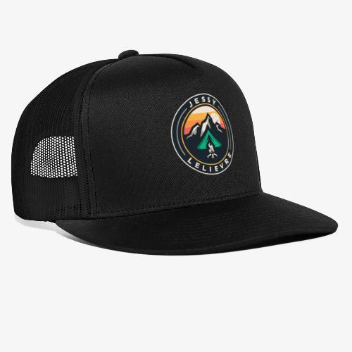 Jessy Lelievre logo 2 - Trucker Cap