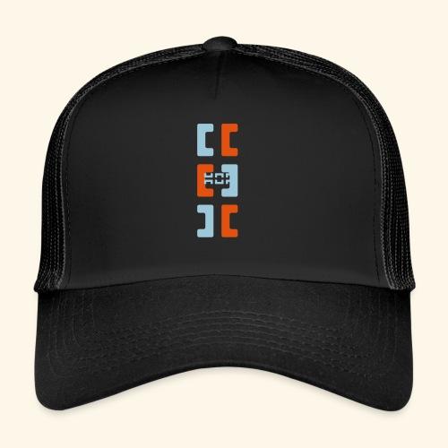 Hoa original logo v2 - Trucker Cap
