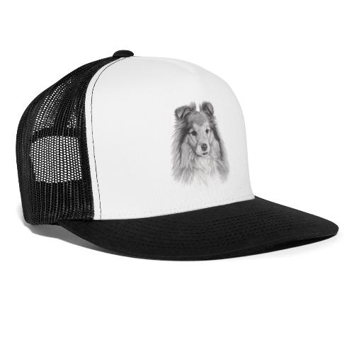 shetland sheepdog sheltie - Trucker Cap