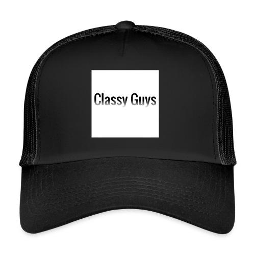 Classy Guys Simple Name - Trucker Cap