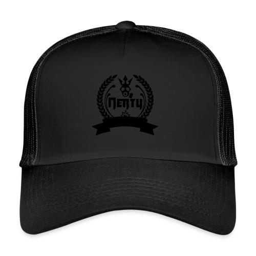 nerty logo noir - Trucker Cap