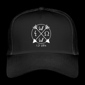 Wrathful Circle Logo - Trucker Cap