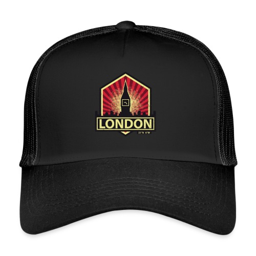 London, England - Trucker Cap