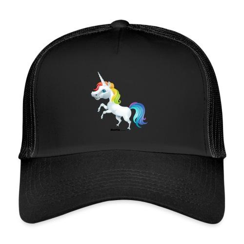 Regenboog eenhoorn - Trucker Cap