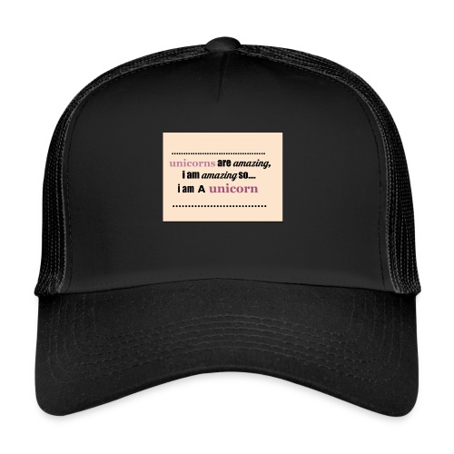 UNICORNS - Trucker Cap