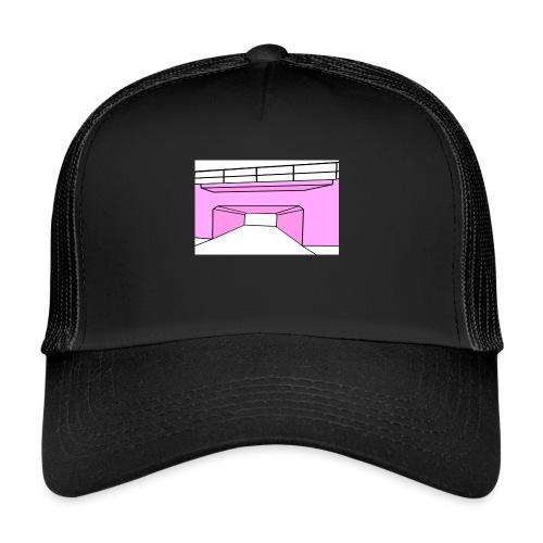 Pink Tunnel - Trucker Cap