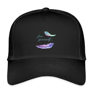 free yourself - Trucker Cap