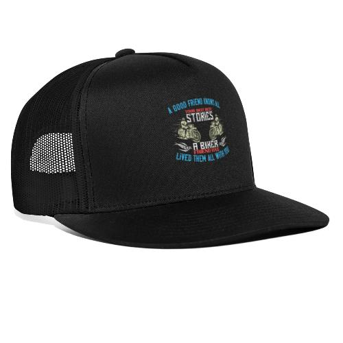 Biker stories. - Trucker Cap