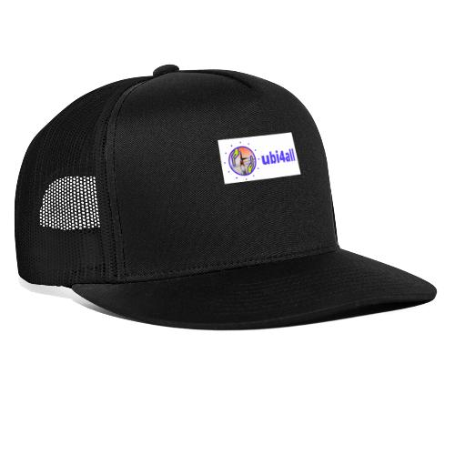 ubi4all horizontal blue - Trucker Cap