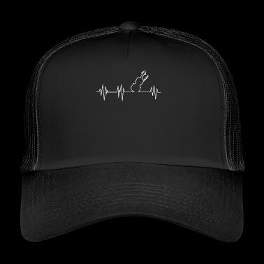 heartbeat violin - Trucker Cap