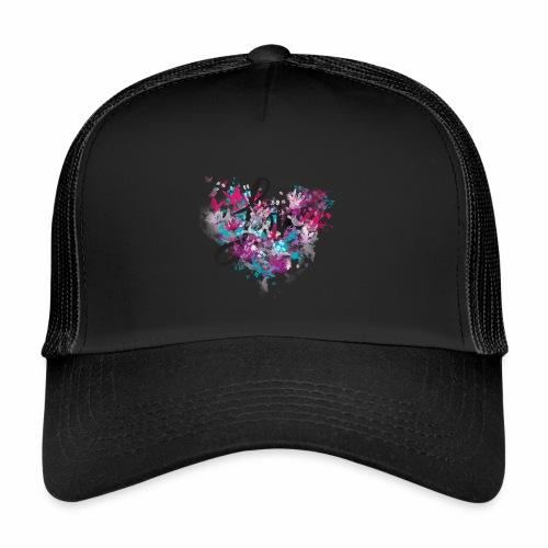 Love with Heart - Trucker Cap