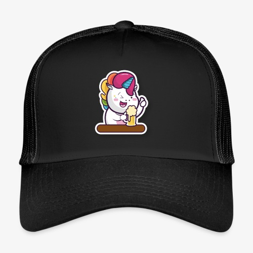 Funny Unicorn - Trucker Cap