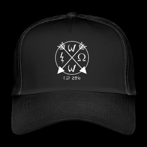 Wrathful Circle Logo - Trucker Cap